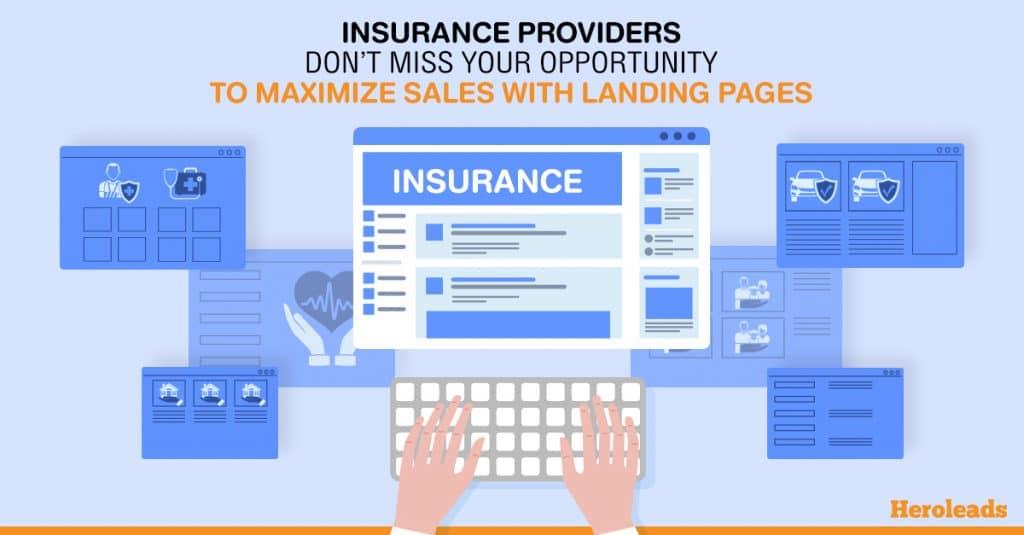 insurance landing page