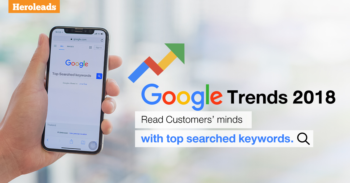 Heroleads Google Trends 2018