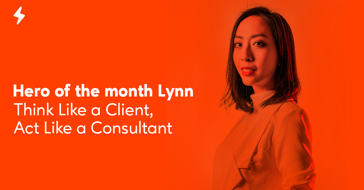 Heroleads Hero of the Month Lynn