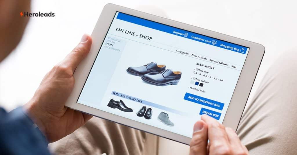 เว็บไซต์ E-commerce, ขายออนไลน์